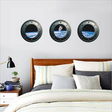 Portal Outer Space Wall Decal The Decal House
