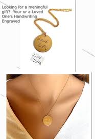 gold necklace personalized