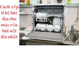 Hướng dẫn xếp bát và xoong cho máy rửa bát Panasonic NP-TR9 nội địa
