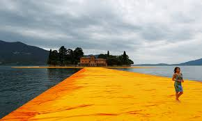 Christo's Newest Project: Walking on Water - The New York Times
