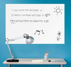 Wall26 Wall Chalkboard Removable Dry Erase Blank Message Board Peel And Stick Decal Sheet Marker Included 24 X36 Amazon Com