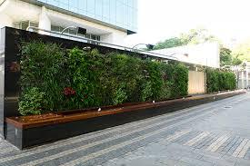 vertical garden designs organic space