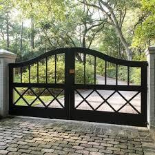 Driveway Gates Design Ideas Pictures Remodel And Decor Farm Gate Entrance Farm Gate Gate Design