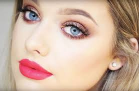evening makeup for blue eyes gradual