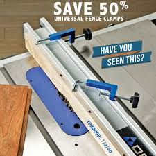 Our Universal Fence Clamps Are Great For Rockler Woodworking And Hardware Facebook