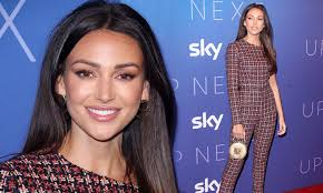 Michelle Keegan looks sophisticated in ...