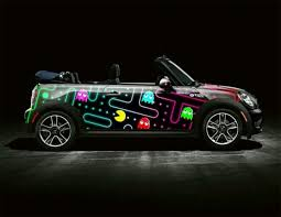 Pacman Car Paint Job Mini Cooper Car Guys Art Cars