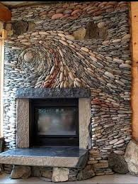 10 stunning rock fireplaces housessive