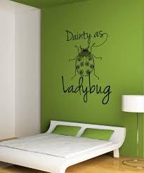 Vinyl Wall Decal Sticker Dainty As A Ladybug Os Dc212 Stickerbrand