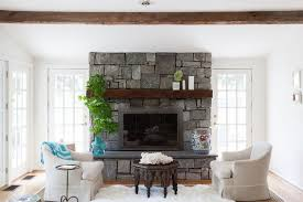 stunning natural stone fireplaces