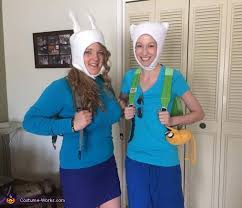 adventure time finn and fiona costume