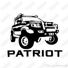 2020 16 5 13 1cm Patriot Outdoor Truck Wilderness Crossing Style Car Sticker Ca 379 From Zhangchao188 0 36 Dhgate Com