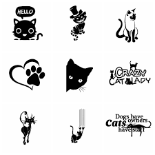 10 Styles Funny Cat Car Stickers And Motorcycle Car Sticker Car Styling Car Accessories Decoration Shop The Nation