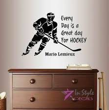 Vinyl Decal Every Day Is Great For Hockey Quote Player Sports Wall Sticker 795 738964974104 Ebay