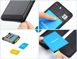 tf/sim card - Ulefone S1