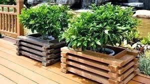 planter box ideas hanging plans pallet