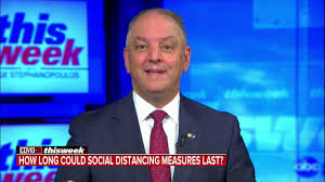 Governor Edwards on This Week with George Stephanopoulos - YouTube