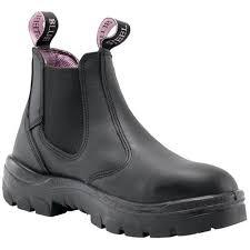 steel blue hobart women s safety boots