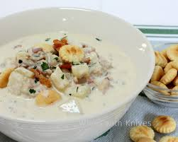 Pacific Coast Clam Chowder