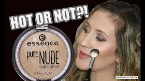 essence pure highlighter hot or