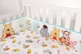 winnie the pooh 4 piece crib per set