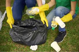 Image result for rubbish picking