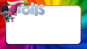 Free Printable Trolls Birthday Party Invitation Con Imagenes