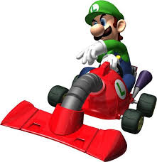Super Mario Kart Race Car Decal Removable Wall Sticker Decor Art Choose Size