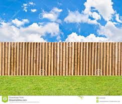 Half Round Post And Rail Fence Stock Photo Image Of Plank Guard 42236998