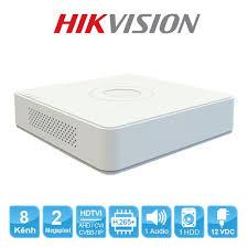 Đầu ghi hình Hybrid TVI-IP 8 kênh TURBO 4.0 HIKVISION DS-7108HQHI-K1   Shopee Việt Nam