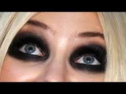 heavy black eyeshadow tutorial you