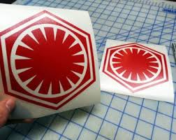 First Order Decal Etsy