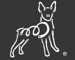 Raining Cats And Dogs Rat Terrier K Lines Window Tattoo