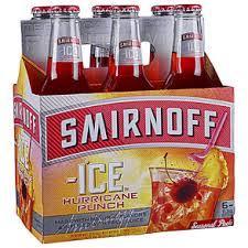 smirnoff ice hurricane punch bottles