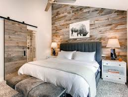 feature wall bedroom wood accent wall