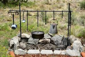Pin by Carl Haywood on Smokers/ Cookers. in 2020   Dutch oven cooking, Bbq  setup, Campfire cooking equipment