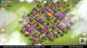 BEST Town Hall Level 6 (TH6) Base ...