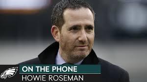 Howie Roseman Talks Eagles' Offseason, Alshon Jeffery, & More | Eagles On  the Phone - YouTube