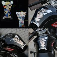 Anime Girl Reflective Pads Protector Stickers Decal Motorcycle Oil Fuel Tank Mat Ebay