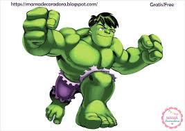 Mama Decoradora Kit Imprimible Hulk Gratis