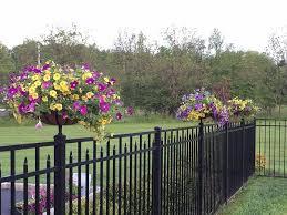 Planter Basket Tru Post Innovative Fence Deck Accessories Fence Planters Fence Landscaping Backyard Fences