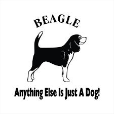Dog Beagle Vinyl Decal Vinyl Sticker Beagle Decal Sticker Cut Etsy