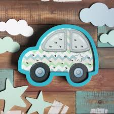 Best Deal Children S Night Light Race Machine Wooden Car Toy Lamp Dizanerskij Home Decor Children S Room Gift Boy