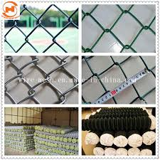 China 50 X 50 Hole Size Garden Chain Link Fence China Chain Link Fence Diamond Fence