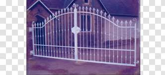 Fence Window Facade Property Wrought Iron Gate Transparent Png