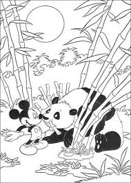 Kids N Fun 23 Kleurplaten Van Mickey Op Safari