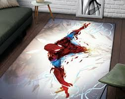 Spiderman Rug Etsy