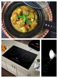 Nấu giả cầy bằng bếp từ Chefs DIH888