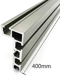 No Logo Fmn Home 1pc Aluminium Profile Fence And T Track Slot Sliding Brackets Miter Gauge Fence Connector For Woodworking Router Saw Table Benches Color 1pc 400mm Amazon Co Uk Kitchen Home