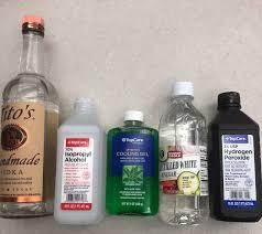 hand sanitizer to battle coronavirus